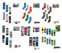 6 Pairs Boys Kids Character Socks Avengers Paw Patrol Mickey Minion Fireman Sam