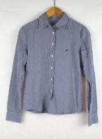UNITED COLOURS OF BENETTON Damen Bluse, blau kariert