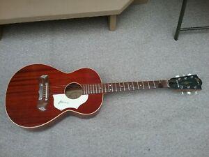 Framus Gaucho model 5/194.  Mahagony, Excellent, Parlor Acoustic Guitar mfg-1968