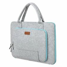 """Ropch 15.6"""" Felt Laptop Sleeve with Handle Portable Notebook Computer Carrying"""