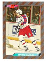 1992-93 Mario Lemieux Bowman Foil - Pittsburgh Penguins