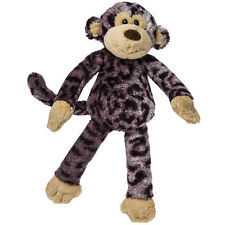 Mary Meyer Monkey Wild Side Gray Black Leopard Print Tan Stuffed Animal NEW