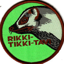 Boy Scout Badge Cub Leader  RIKKI-TIKKI-TAVI