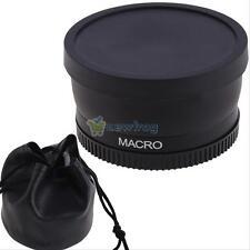 58mm 0.45X Macro Wide Angle Lens fr Canon EOS 1000D 1100D 500D Rebel T1i T2i T3i