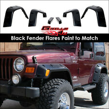 Offroader Socket Style Fender Flares For 1997-2006 Jeep Wrangler