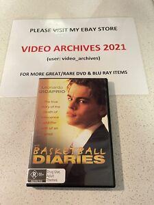 The Basketball Diaries DVD Region 4 Rare