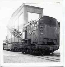 7E297 RP 1973 WESTERN MARYLAND RAILROAD CRANE #1670 HAGERSTOWN BROWNHOIST #11027