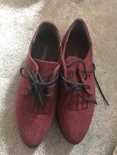 Woman Fashion Loafer Shoes Flat Size 4