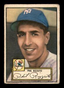 1952 Topps Set Break #11 Phil Rizzuto GD *OBGcards*