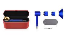 Brand New Sealed Dyson Supersonic Blue Hair Dryer 23.75 Karat Gold -GENUINE UK