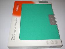 Cygnett Alumni Canvas Case Inside Pocket for iPad 1st, 2nd, 3rd & 4th Gen Green