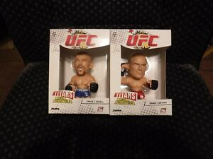 2011 Round 5 UFC Titans 2 Pack Wave 1 Randy Couture & Chuck Liddell ZUFFA NEW