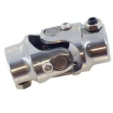 """Universal Stainless Steel Steering U Joint 1"""" DD X 3/4"""" DD Double D"""