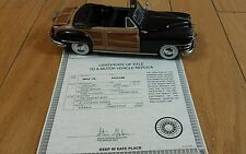 DANBURY MINT 1948 CHRYSLER TOWN & COUNTRY 1/24
