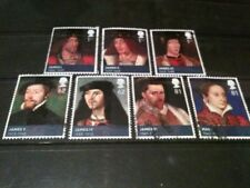 QE2 2010 FU SG3046/52 KINGS& QUEENS, STEWART STAMPS SET