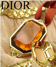 100% AUTHENTIC Exclusive GOLDEN DIOR BRONZE HIGHLIGHTER Makeup JEWELLED Necklace