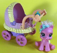 MY LITTLE PONY NURSERY NEWBORN CUTIES PINKIE PIE CARRIAGE BABY BUGGY STROLL LOT