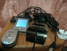 Dell GPS Bluetooth receiver NAVTEQ on Board + Dell Axim x30 with accessories lot