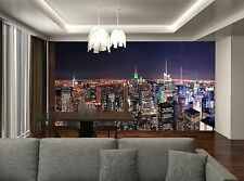 New York City at Night  Wall Mural Photo Wallpaper GIANT DECOR Paper Poster