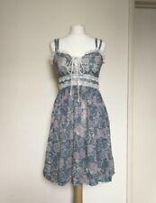 True vintage 1970s Gunne Sax Prairie Dress Size Small UK 8-10