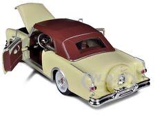 1953 PACKARD CARIBBEAN SOFT TOP CREAM 1/24 DIECAST CAR MODEL BY WELLY 24016