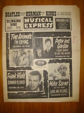 NME #922 1964 SEP 11 BEATLES KINKS ANIMALS HERMITS