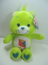 "Care Bears Do Your Best Bear Plush Green Kite NWT 10"" 2003"