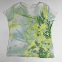 Coldwater Creek Women's Floral Print Lined T-Shirt Size L