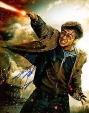 DANIEL RADCLIFFE autograph signed 8x10 photo HARRY POTTER COA