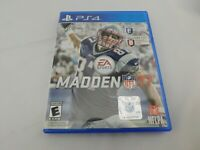 Madden NFL 17 (Sony PlayStation 4, 2016) 2017 PS4 TESTED & WORKS - FREE POSTAGE