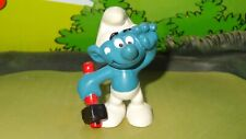 Smurfs Hammer Smurf Handy Mechanic 20083 Rare Original Vintage Display Figurine