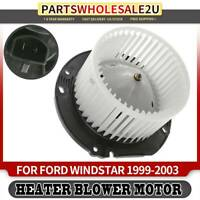 99-03 Ford Windstar Rear Heater AC A//C Condenser Blower Motor Assembly Fan Cage