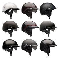 Bell Pit Boss Motorcycle Half Helmet with Sun Visor XS/SM MD LG XL/XXL XXXL