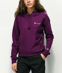 Champion Women's Reverse Weave Hoodie - Medium