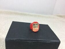 Vintage 1950's Mickey Mouse Club Member Flicker Ring Walt Disney Productions