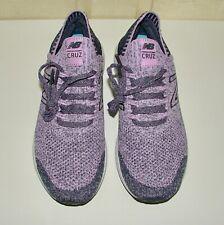 NWOB New Balance J Crew sz US 8/ EU 39 Fresh Foam Cruz V 2 purple knit sneakers