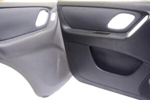 4 Door Panel Leather Synthetic Cover for Ford Escape 01-07 Gray