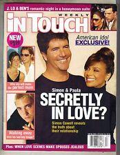 Paula Abdul Simon Powell en Touch Revista 4/28/03 Jolene Blalock Madonna Pc