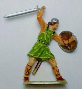 Norman Warrior  Hausser 1960 Elastolin 7cm 70mm pearl base