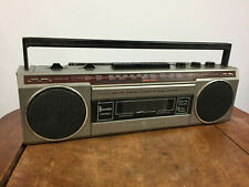 Vintage General Electric GE Small Portable Cassette Tape Player Stereo Boombox
