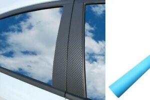 6x Premium Abc Colonne Porte Atteindre Voiture Protection Kit Bleu Clair Mat