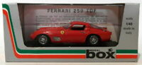 Box Model 1/43 Scale Diecast 8424 - Ferrari 250 TDF Prova - Red