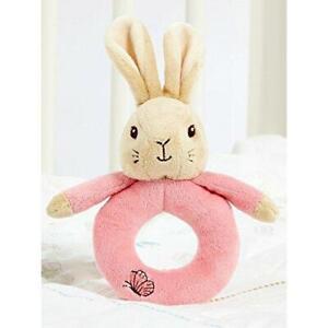 Rainbow Designs Beatrix Potter Flopsy Bunny Ring Rattle