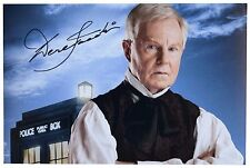 Derek Jacobi  SIGNED 12x8 Photo Autograph TV Doctor Who Memorabilia AFTAL & COA