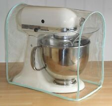 Pistachio Green Edged Dust Cover For Kitchenaid and Kenwood kMix Food Mixers
