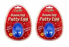 2 x Silly Bouncing Putty Egg Special Education Stretch Multi Sensory Touch Toy