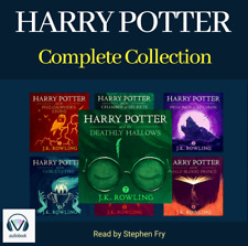 Harry Potter Complete Audiobook Collection Unabridged (MP3) Read By Stephen Fry
