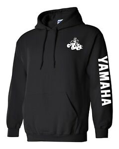 YAMAHA ATV Hoodie Sweatshirt Side By Side NAVY or BLACK Shirt Raptor YFZ YXZ