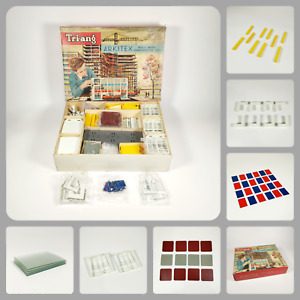 Vintage Tri-ang Arkitex Scale Model Construction Kit 1/42 Scale   Set No. 2