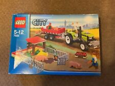 LEGO 7684 City Pig Farm Tractor Retired & Ultra Rare Brand new in sealed box